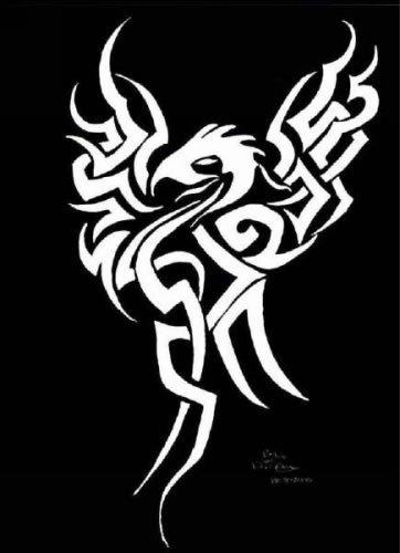 Ave fenix tattoo future tattoos for Fenix tribal tattoo