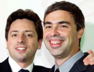 What no balls? -Google founders Larry Page and Sergey Brin