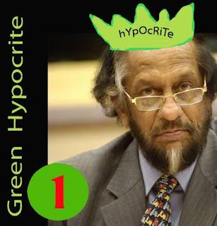 Rajendra Pachauri -green hypocrite