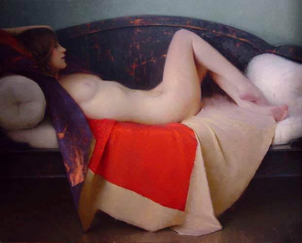 nude by Jeremy Lipking