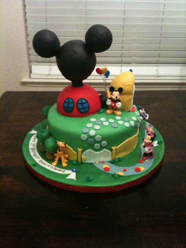 Mickey Mouse Clubhouse Cake Images : sugar: Mickey Mouse Club House Cake