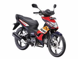 New Honda Blade Officially Announced in Indonesia Available in Two Design Options Standard and Repsol Colors
