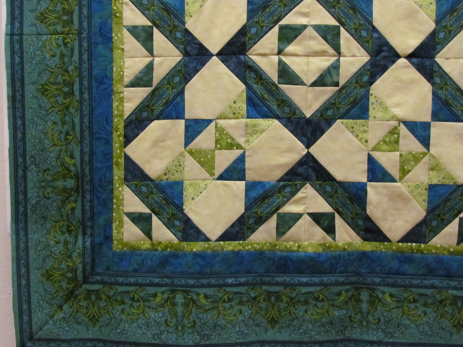 how to make mitered corners on quilt borders