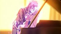 Kyoushiro sweeps Kuu off her feet