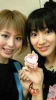 with Galaxy Angel sempai Shintani Ryouko
