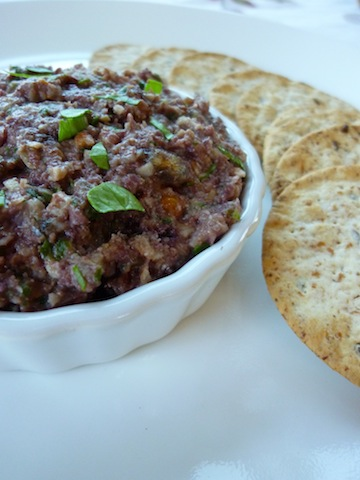 For Long Life: Sweet And Spicy Kalamata Olive And Artichoke Tapenade ...