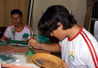 Escola realiza evento que mistura cultura com prevenção às drogas
