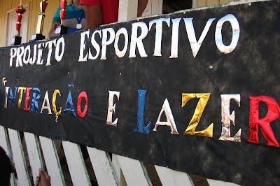 """Projeto Esportivo """"Interação e Lazer"""" Copa do Mundo 2010 na comunidade Oco do Mundo  Km 25 -BR 364 - Km 85"""