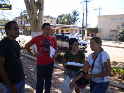 Núcleo do Projovem Urbano da Escola Santo Izidoro realiza visita aos alunos que não estão frequentando as aulas