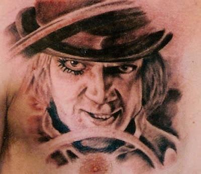 Extreme Tattoos Clockwork Orange