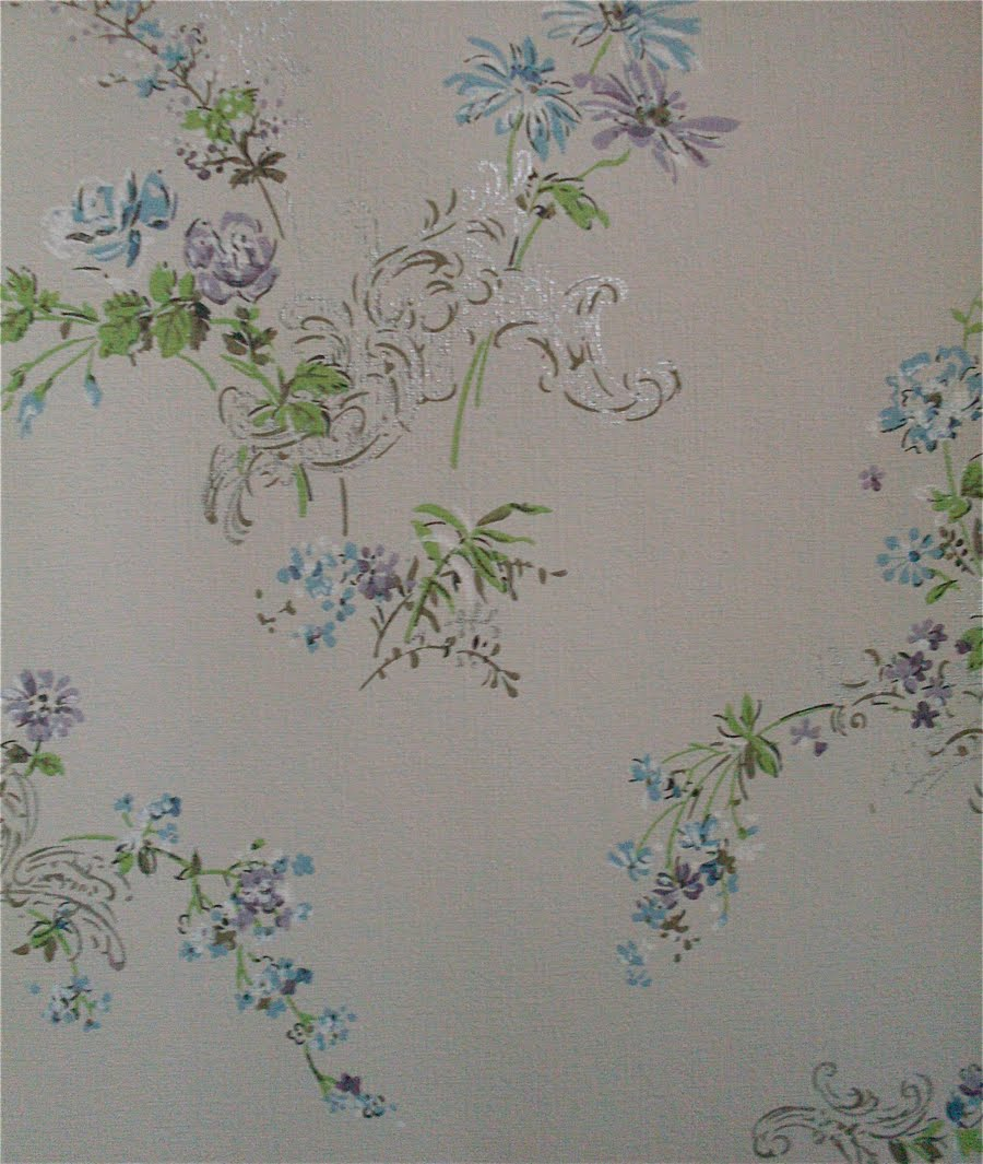 1950's Wallpaper: Flowers
