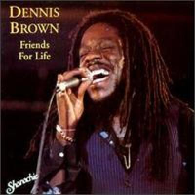 dennis brown - friends for life(Shanachie)(Black Scorpio)1992