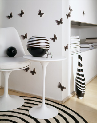 laura craft home deco decoracion en blanco y negro