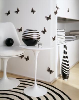 Laura craft home deco decoracion en blanco y negro - Decoracion blanco y negro ...