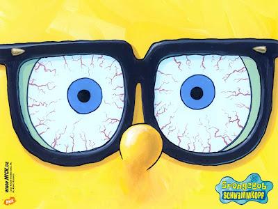 yang ini lucu bgd!kacamatanya ituuuu Spongebob aabbbiiisss..this pis is