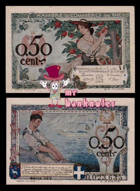 World banknotes francs chambre de commerce for Chambre de commerce de paris