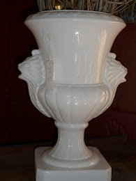 French Porcelain Urn