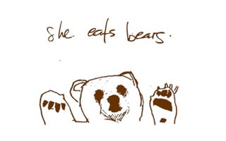 She Eats Bears