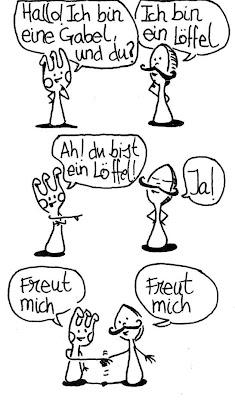 Dibujos de verbos, dibujos de frases prácticas, dibujos de objetos