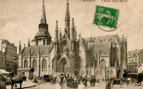 L'église Saint Martin en 1911
