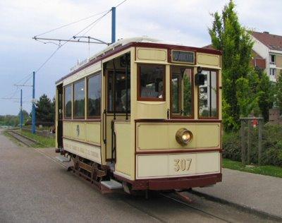 Motrice 307 Réseau TRT 1906