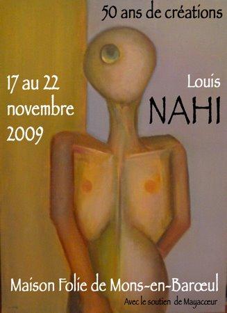 """Exposition """" 50 ans de créations """"  au Fort de Mons-en-Barœul (Maison Folie) 17 au 22 novembre 2009"""