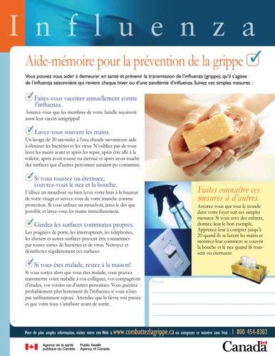 Conseils de prévention en français