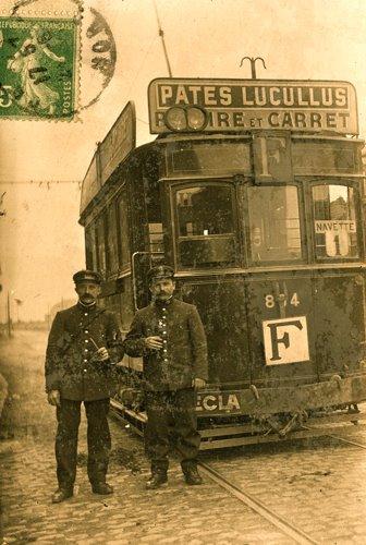 Le tramway F (ou car F)