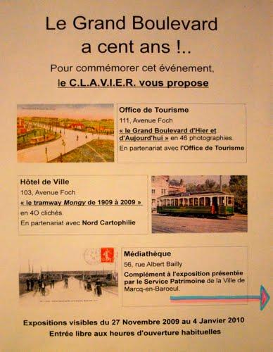 3 expositions à  Marcq-en-Barœul (Office de Tourisme - Hôtel de ville et Médiathèque La Corderie)