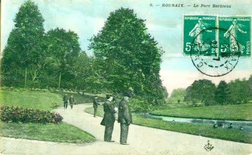 Le Parc Barbieux en 1911