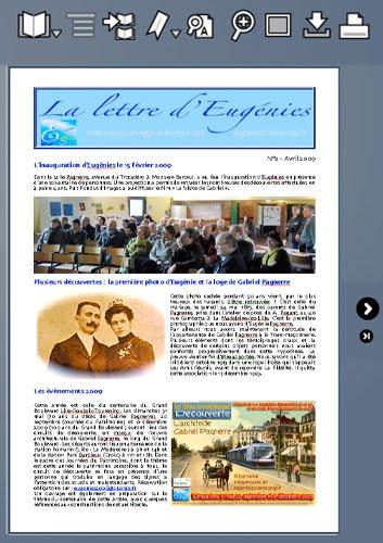 La lettre d'avril 2009