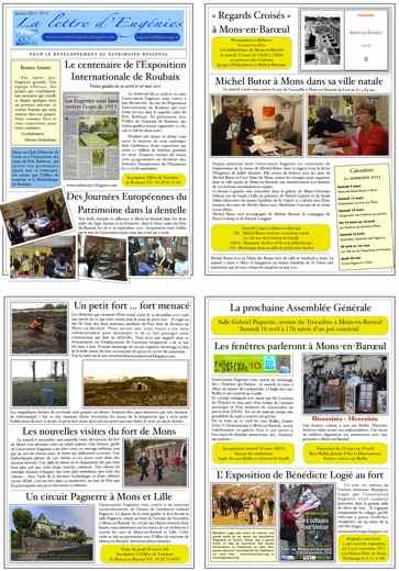 Lettre d'Eugénies n°6 janvier 2011