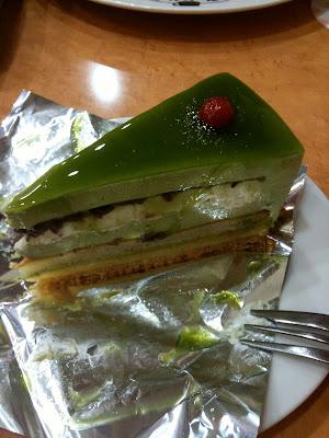 Cafe Mai:lish Akihabara matcha gateau