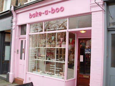 Bake-a-Boo West Hampstead exterior