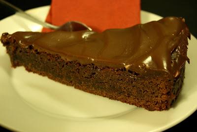 Chocolate espresso tart cake
