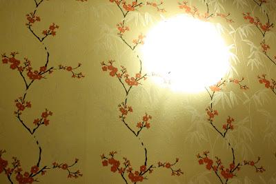 Gold wallpaper cherry blossom sakura