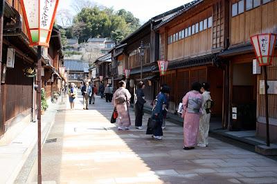 Higachi-Chaya Kanazawa Japan kimonos