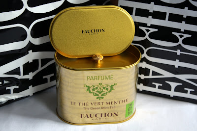 Fauchon green tea with mint tin
