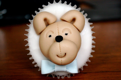 Cakes 4 Fun decorated cupcakes teddy bear