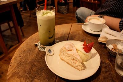 Drole Naka-Meguro Tokyo iced matcha latte