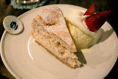 Drole Naka-Meguro Tokyo strawberry cheesecake