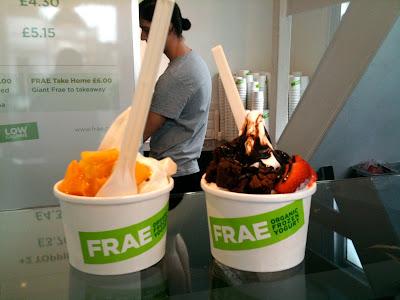 Frae Islington frozen yoghurt