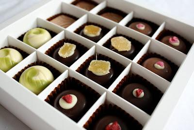 Matcha Chocolat tea chocolates