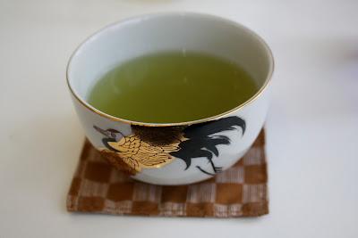 Japanese Sencha cup