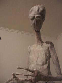 Proceso Escultura Extraterrestre