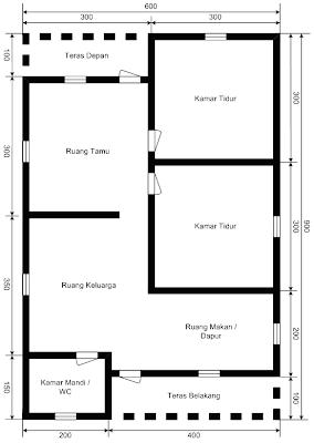 Bangkar diagram instalasi listrik diagram instalasi listrik denah rumah tipe 54 ccuart Images