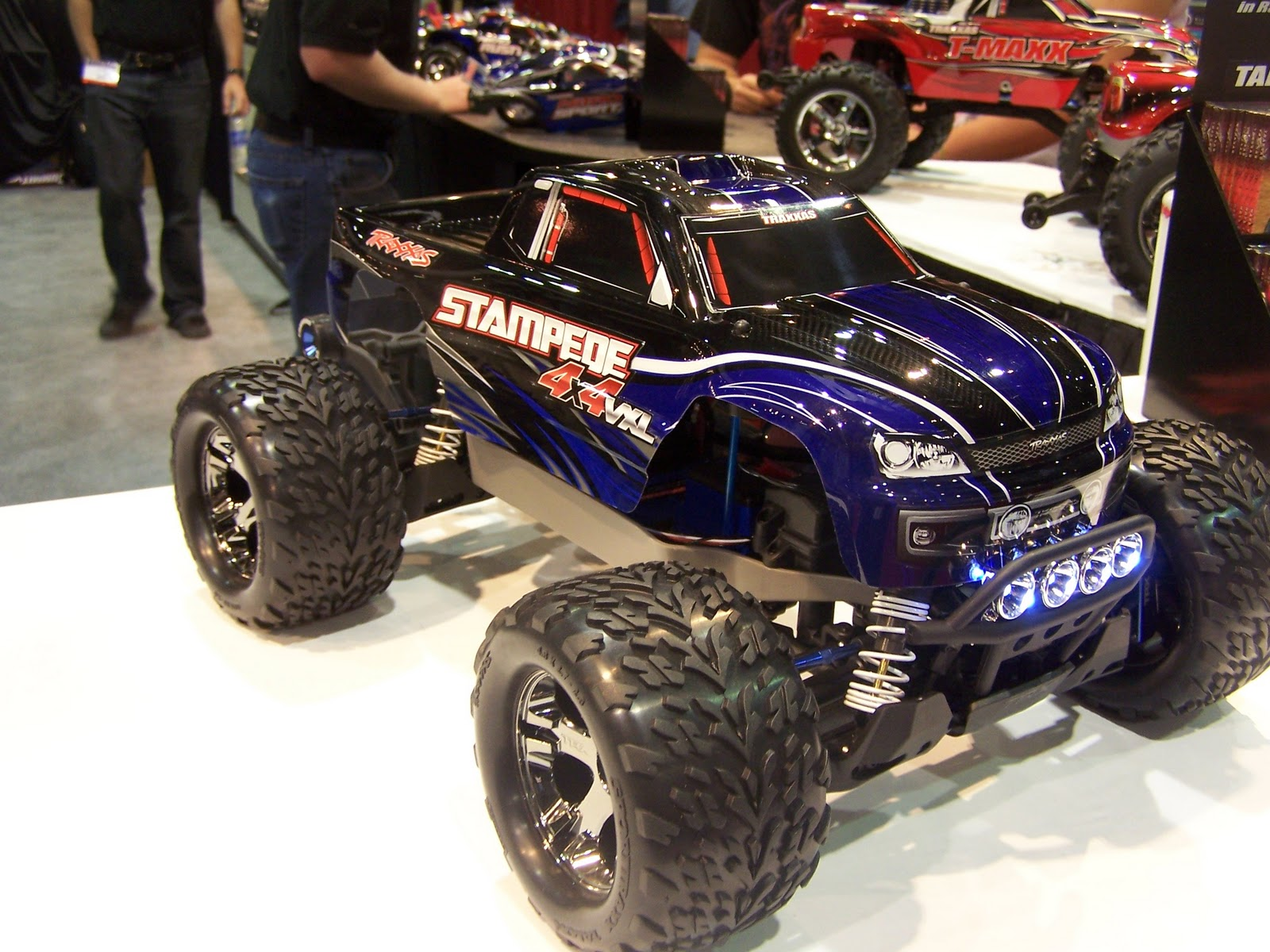 Traxxas 4X4 Stampede New release no body was expecting was a 4 wheel drive monster truck from traxxas This truck feturs a VXL brushless system and a