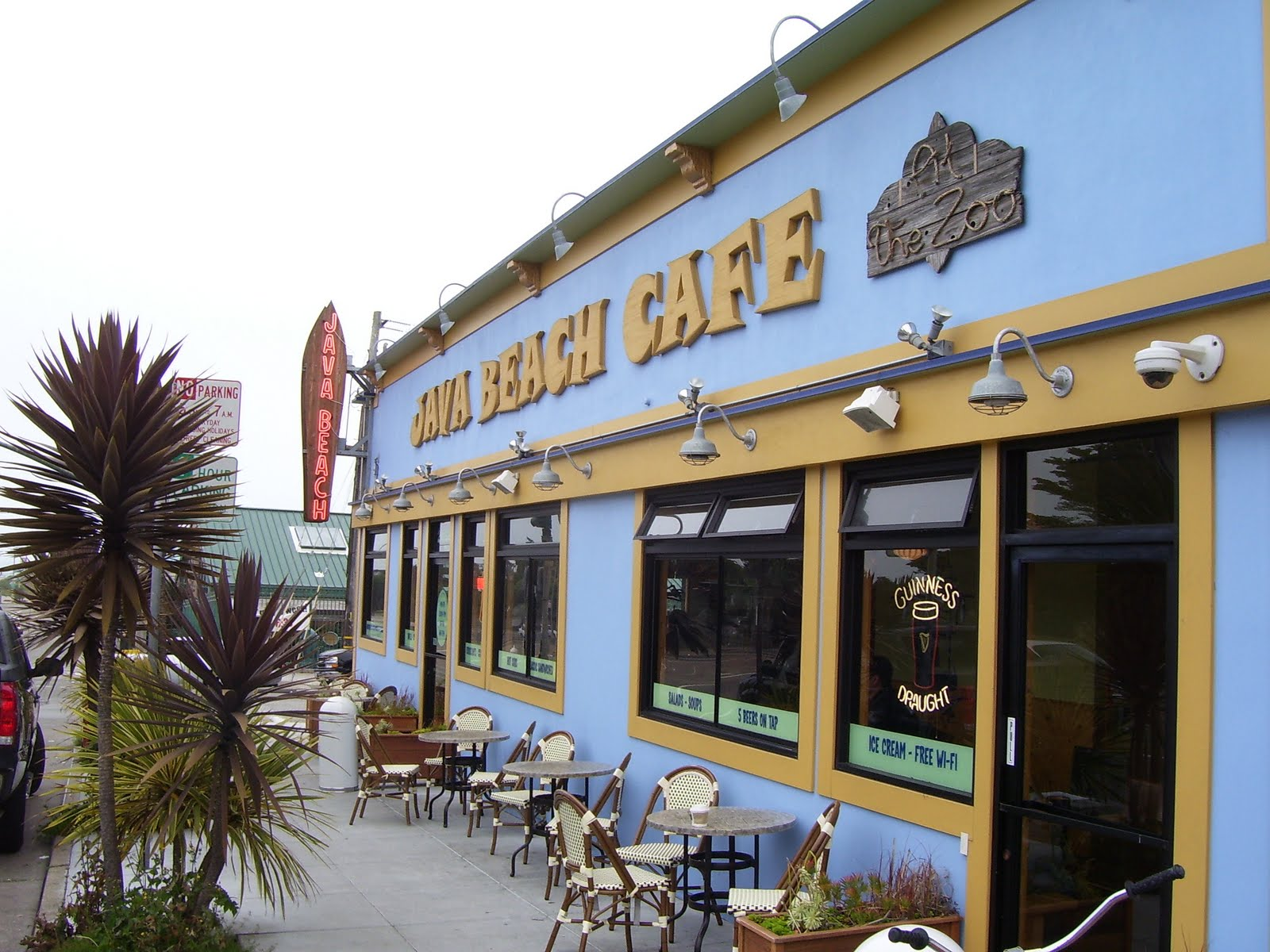 Java Cafe Ocean Beach San Francisco