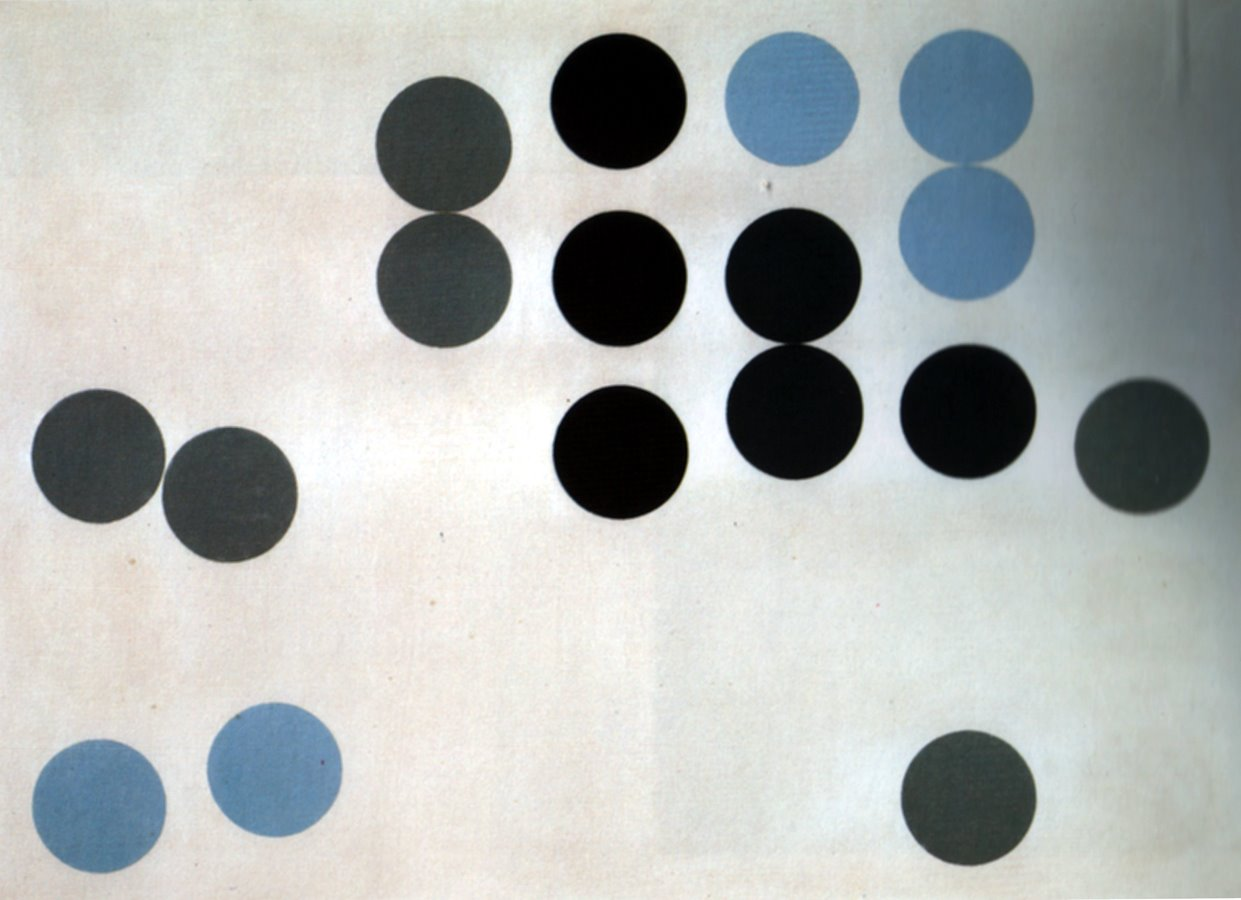 [08+Sophie+Taeuber-Arp,+Moving+Circles,+1933,+Oil+on+canvas,+28x39]