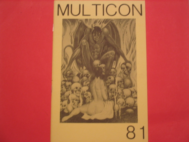 multicon 1981 program book